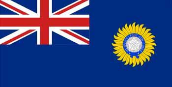 Bandera de la India Británica