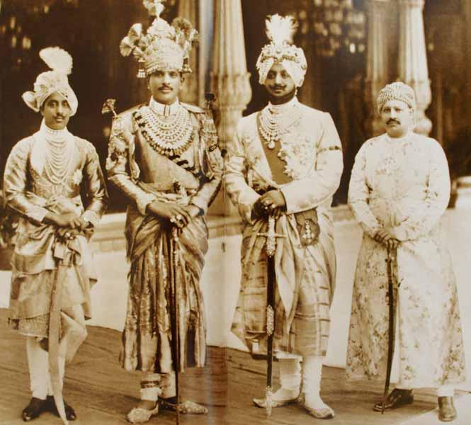 17MaharajasDholpurAlwarPatialaJhalawarDelhiDurbar1911
