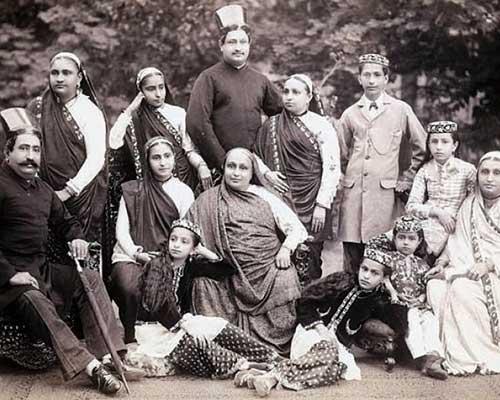 Familia Parsi de principios del siglo 20