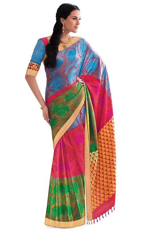 Sari estilo Gadwal