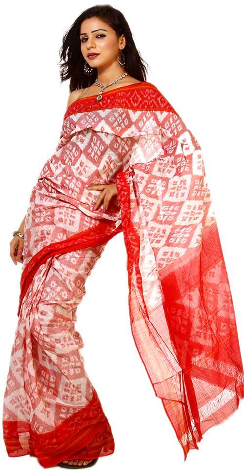 Sari de Pochampally Ikat