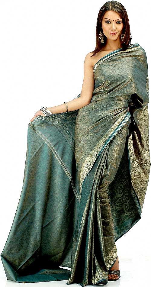 Saris estilo Tanchoi