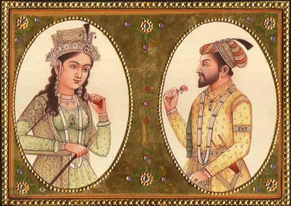 Shah Jahan y Mumtaz Mahal