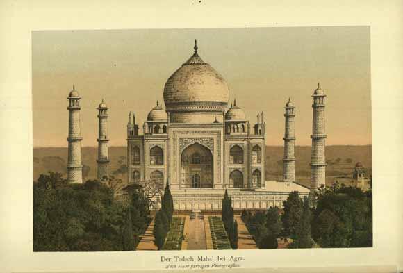 Litografia del Taj
