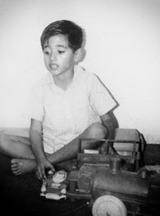 El autor en 1970